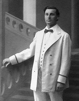Armin Armidi (Pinkerton) – Giacomo Puccini: Madame Butterfly, Zagreb, 1915.